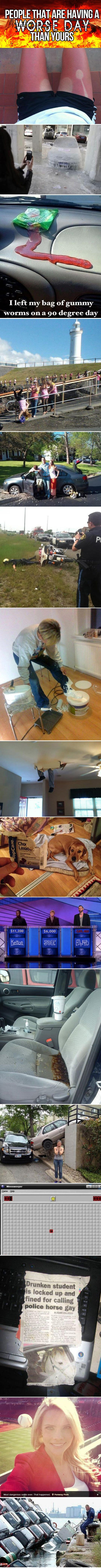 People that are having a worse day than yours… #compartirvideos #funnypictures #uploadfunny