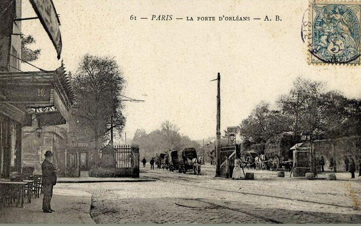 169 best rues de paris images on pinterest paris france - Porte de orleans paris ...