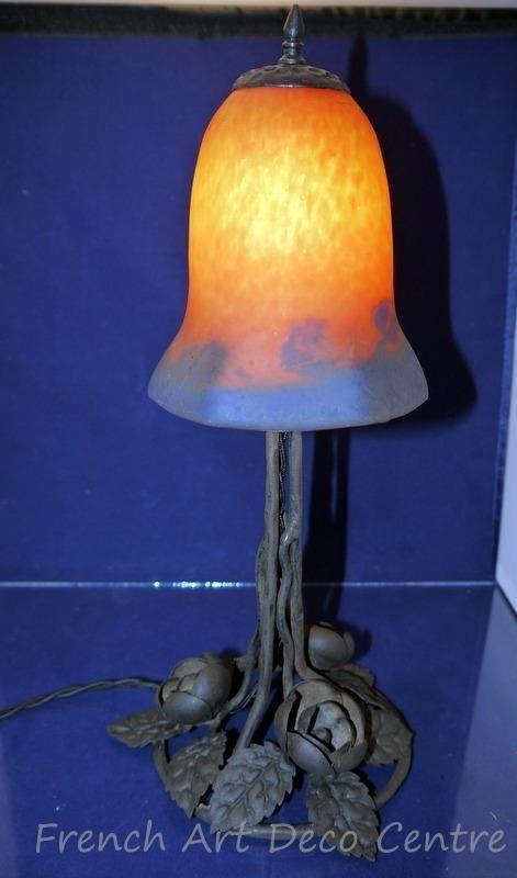 Французский арт-деко пате де verre лампа подпись c1920's | Антиквариат, Периоды и стили, Ар деко | eBay!