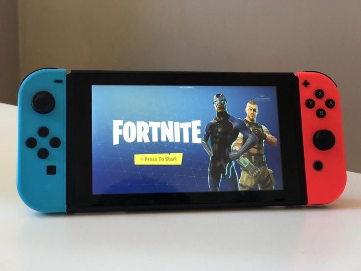 Fortnite Nintendo Switch Meester Sander Nintendoswitch