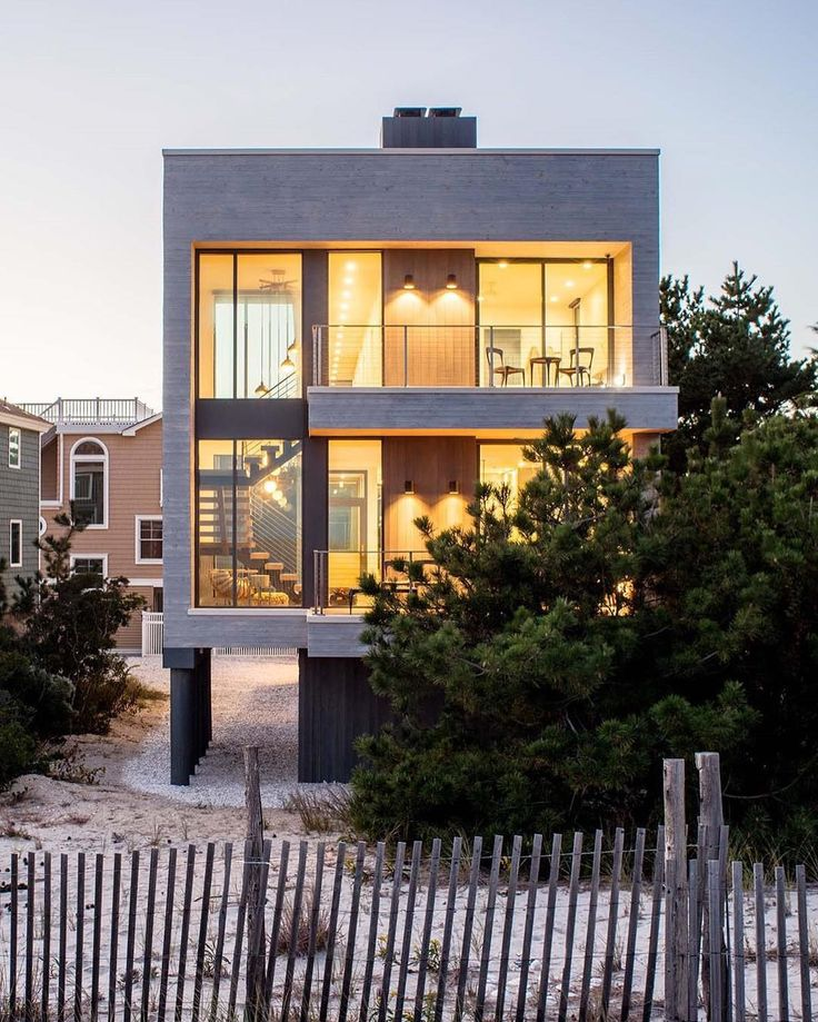 Beach haven residence spechtarchitects new jersey modern beach housescontemporary