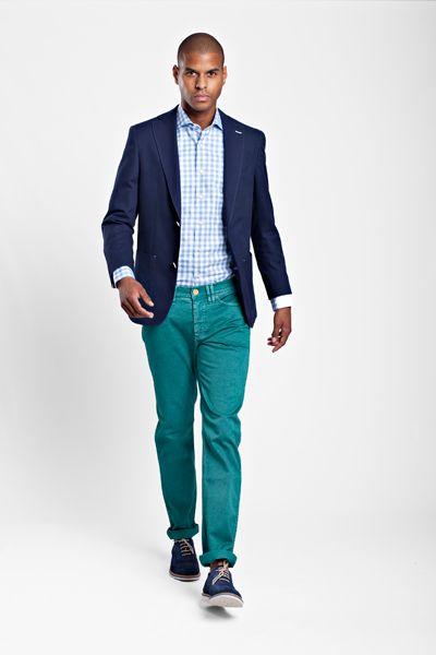 Bay Berry Green 5-pocket
