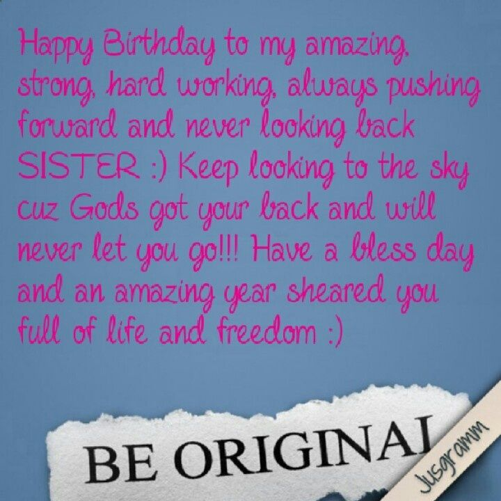 Sister Birthday Wishes Quote: Best 25+ Sister Birthday Quotes Ideas On Pinterest