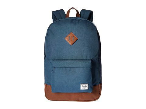 HERSCHEL SUPPLY CO. Heritage. #herschelsupplyco. #bags #leather #lining #polyester #nylon #backpacks #