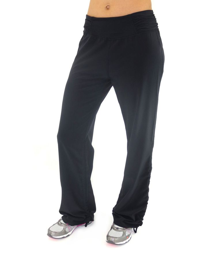 Look what I found on #zulily! Black Motion Bootcut Pants - Plus Too by Ryka #zulilyfinds