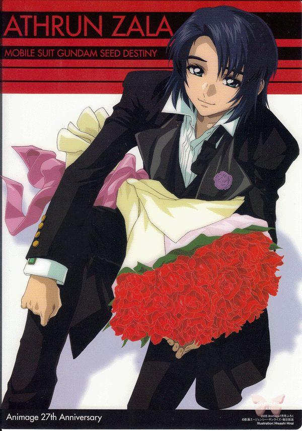 Gundam Seed Pencil Board - Animage 2005.07 27th Anniversary Bonus Shitajiki Athrun Zala