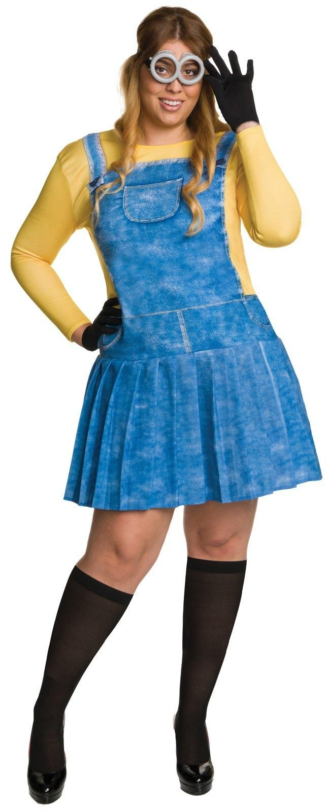Minions Movie: Womens Plus Size Minion Costume from Buycostumes.com