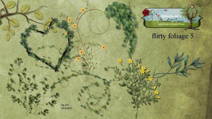 Flirty Foliage 5