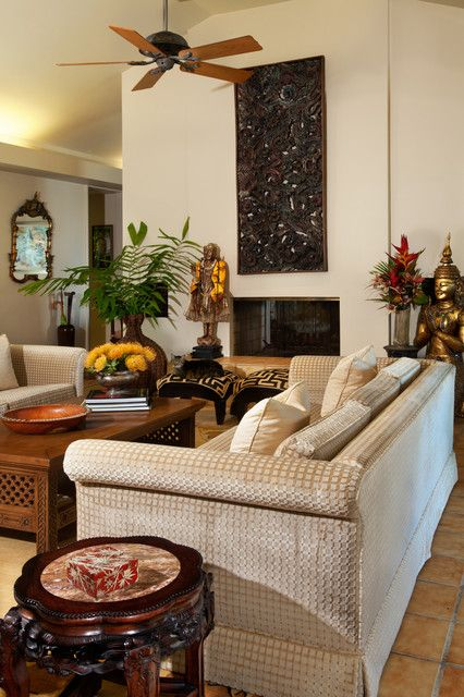 Marvelous 26 Sleek And Comfortable Asian Inspired Living Room Ideas Part 24