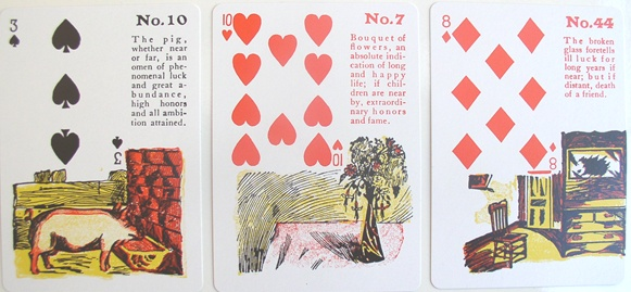 gypsy witch fortune telling cards instructions free