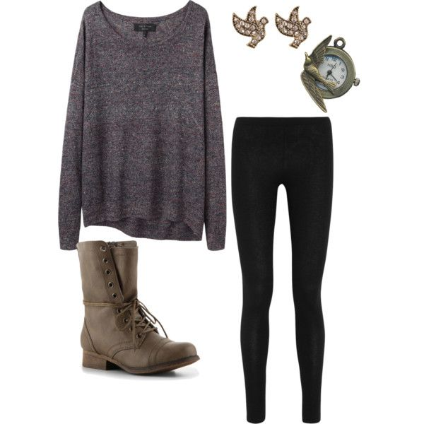 Cozy rainy day outfit. Cowboy boots would make the difference!!