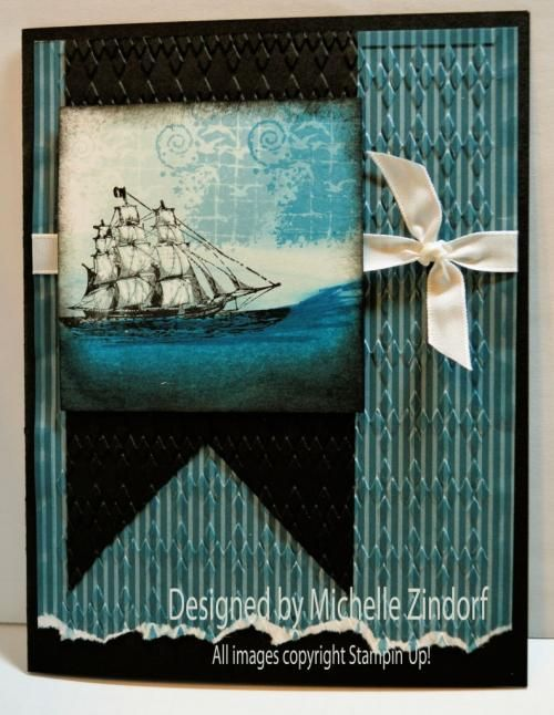 The Open Sea II – Stampin' Up! Card Tutorial #604 |