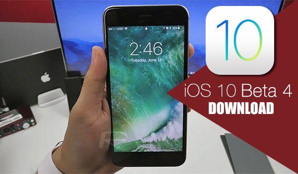 วิธีติดตั้ง iOS 10 Beta 4 โดยไม่ต้องลงทะเบียนเป็นนักพัฒนา ได้ทั้ง iPhone, iPod, iPad ผ่าน OTA