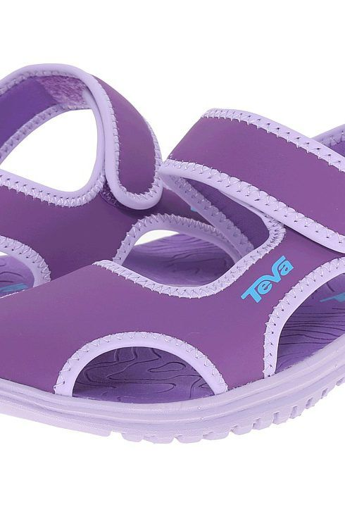 Teva Kids Tidepool CT (Little Kid) (Deep Lavender/Lavender) Girls Shoes - Teva Kids, Tidepool CT (Little Kid), 110130C-659, Footwear Open Casual Sandal, Casual Sandal, Open Footwear, Footwear, Shoes, Gift, - Fashion Ideas To Inspire