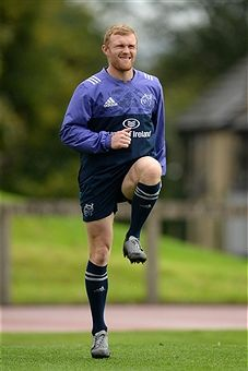 Keith Earls. Munster Rugby