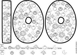 Classroom Freebies: 100 days ideas!