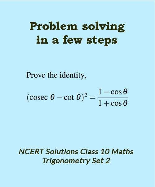 ncert solutions class 10 maths trigonometry set 2   #fast #math