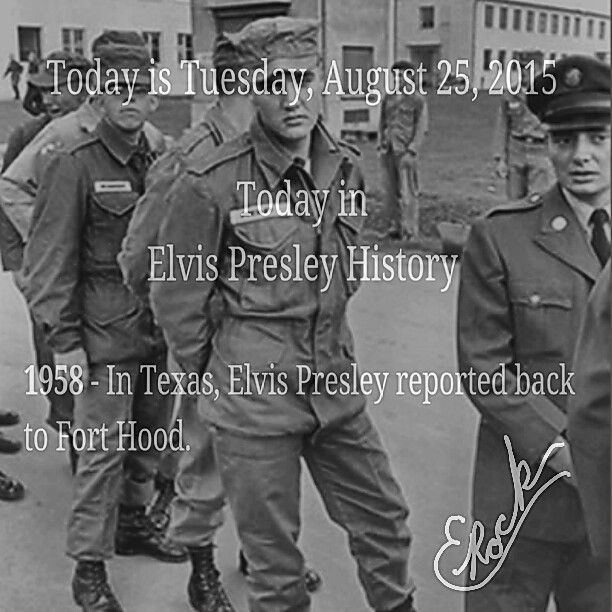 TODAY IN ELVIS PRESLEY HISTORY...