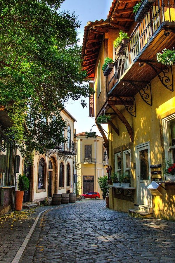 Streets at old town of Xanthi (II) by Sergios Georgakopoulos - City,  Street & Park  Historic Districts ( old, hdr, greece, street, buildings, xanthi )