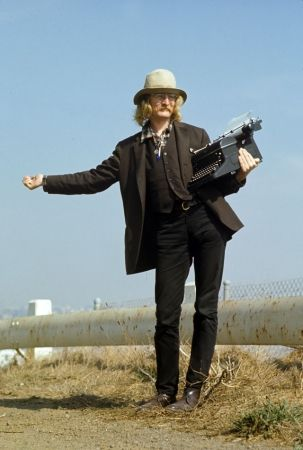 This is Richard Brautigan, an amazing writer.Time, Writers Richard, Life, Jubilee Hitchhikers, Richard Brautigan Poems, Book Worth, Jubilant Hitchhikers, Esquire Magazines, Williams Hjortsberg