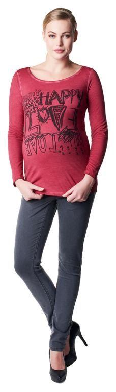 Camiseta de embarazo algodón Drew [50625] - 39,95€ : Tienda premamá online. Moda prenatal para embarazadas y ropa interior para embarazo y lactancia., Demamis.com