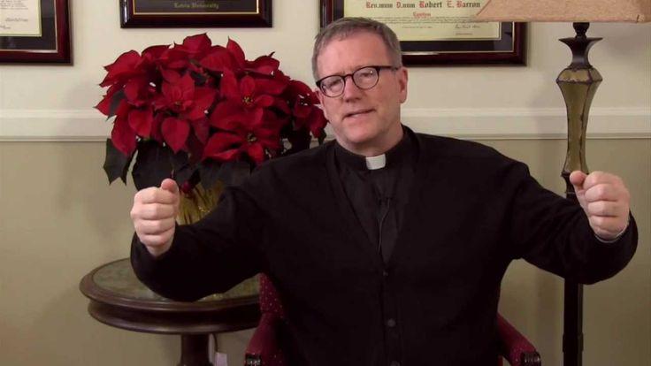 Fr. Barron comments on The Nativity of Luke's Gospel