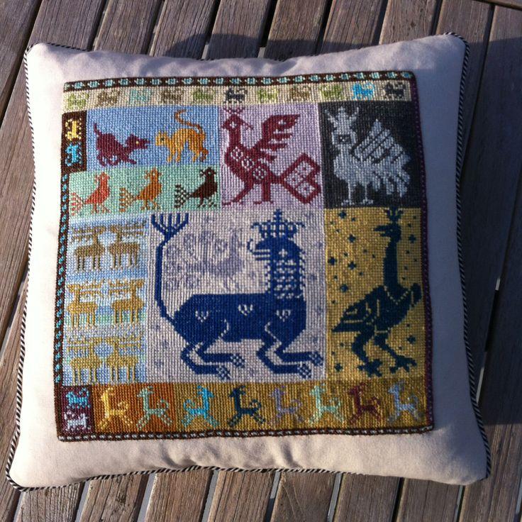Crossstich pillow