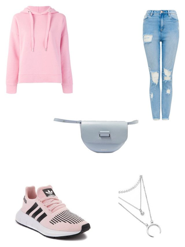 """""""Leather fanny pack"""" by bethanyyk on Polyvore featuring Wandler, adidas and Closed"""