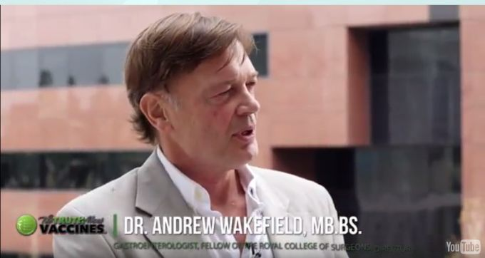 """DR. ANDREW WAKEFIELD: IF I HAD A BABY NOW, I WOULD NOT GIVE THEM A VACCINE"""
