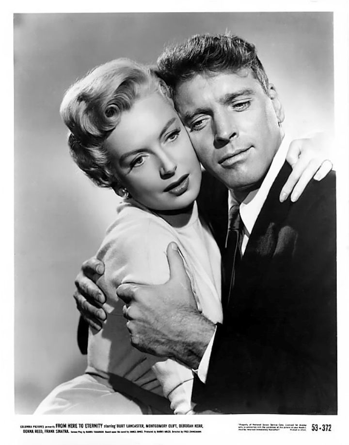 Debra Kerr and Burt Lancaster