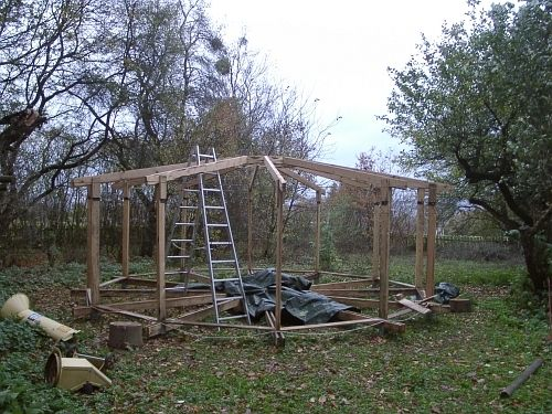 Openlifesource Dome Start Dachkrone eingehängt
