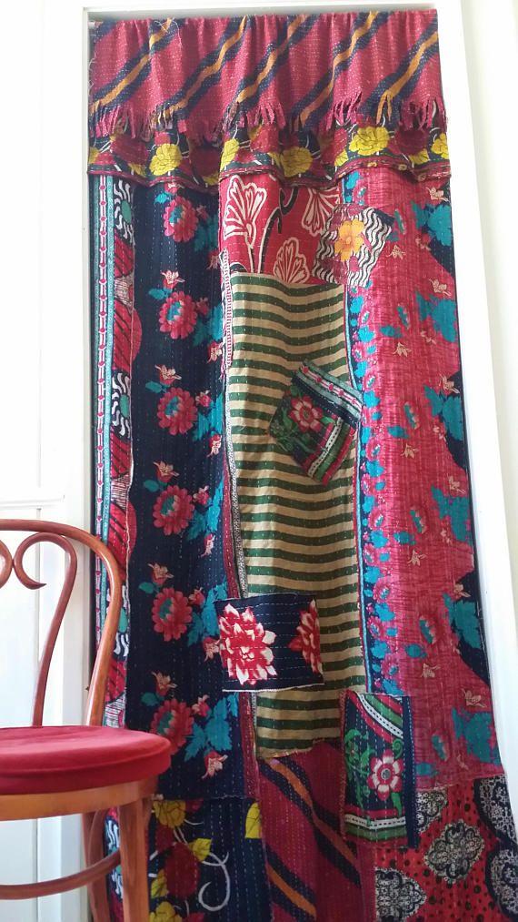 Best 25+ Patchwork curtains ideas on Pinterest | Gypsy ...
