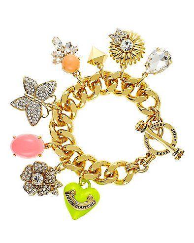 juicy couture drama charm bracelet fine jewelry