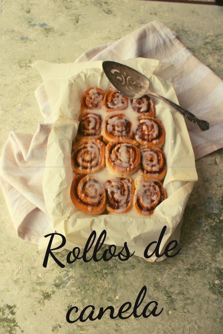 A todos nos encantan los rollos de canela y hacerlos es muy fácil ¿Quieres ver la receta?  #rollitosdecanela #rollosdecanelafaciles #rollitosdecanelafaciles Deserts, Breakfast, Food, Gourmet, Frases, Vegetarian Recipes, Morning Coffee, Essen, Postres