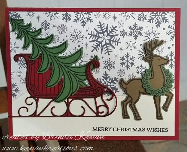 pinelaine spiveydalton on stampin up christmas
