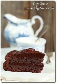 Ciasto czekoladowe z mąki gryczanej - przepis Olgi Smile