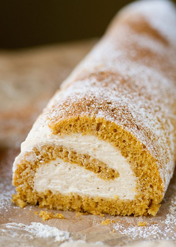 Pumpkin roll recipe. I really can not get enough of this!