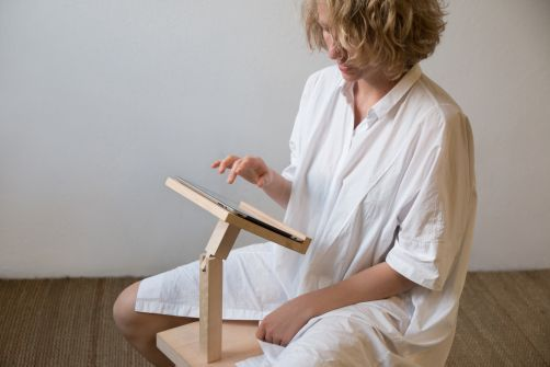 Zyyydel Pani Jurek, inspired by old Polish folk stool, Creative Common licensed design,
