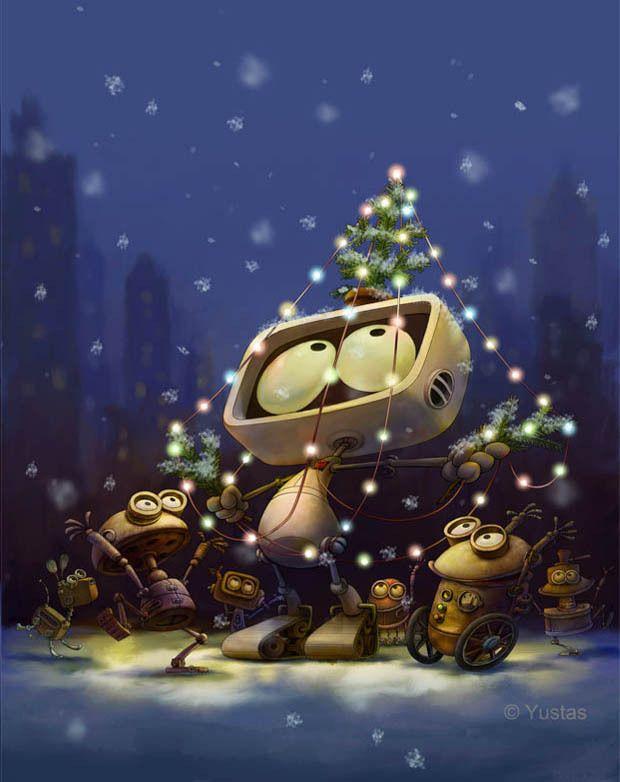 """Happy New Year!"" by Yustas , via Behance"