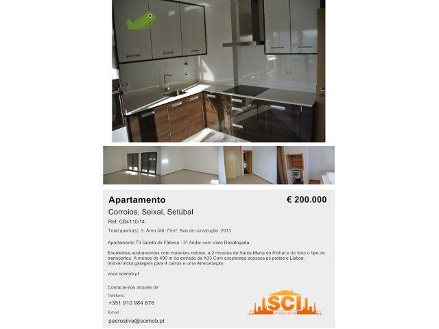 Apartamento T3 Venda 190000€ em Seixal, Corroios, Quinta da Fabrica - Casa.Sapo.pt - Portal Nacional de Imobiliário
