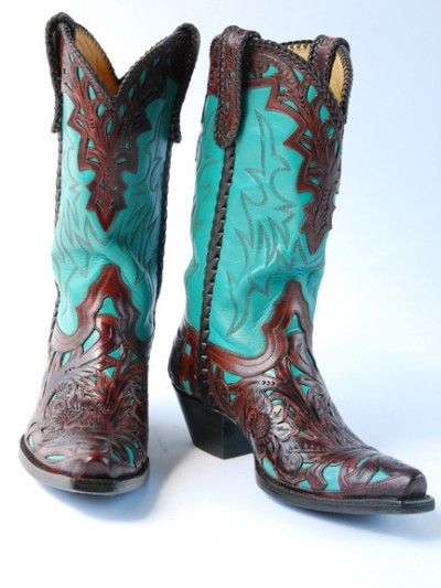 Love turquoise and brown!