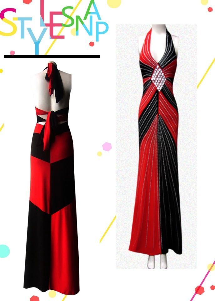 Sexy night club sytle Harley Quinn party or ball gown ployster costume with shin…