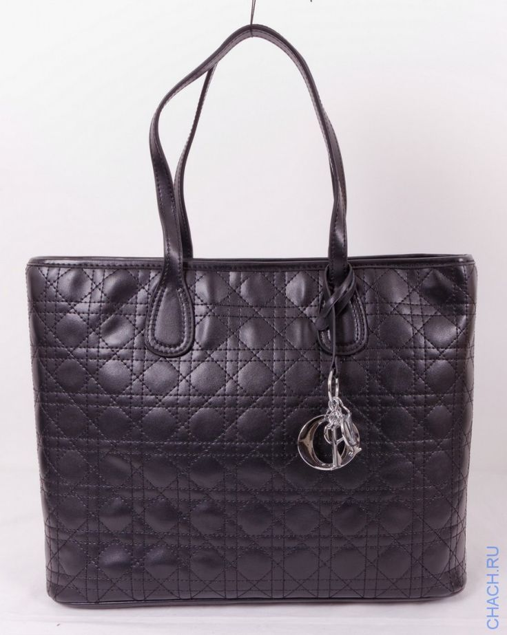 Женская сумки Dior Panarea из натуральной черной кожи