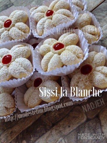 Délice et gourmandise recettes algériennes : Sissi la blanche