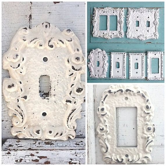 Light Switch Cover Cast Iron Decor Victorian Home by CamillaCotton