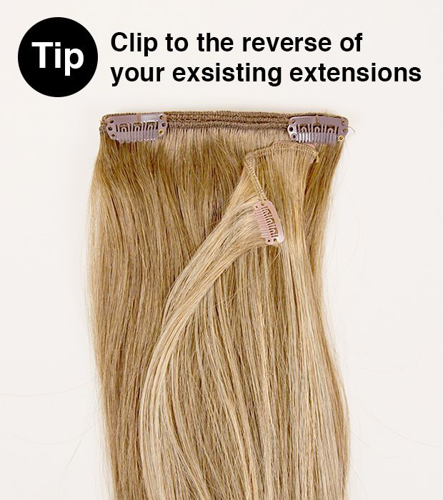 Hair extensions clip in how to put in images hair extension how to put clip in hair extensions short thin the best hair 2017 how to ly pmusecretfo Images