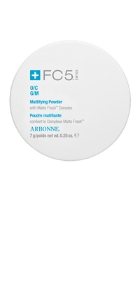 Arbonne FC5 Mattifying Powder -- this stuff is magic in a compact $30.00 CAD
