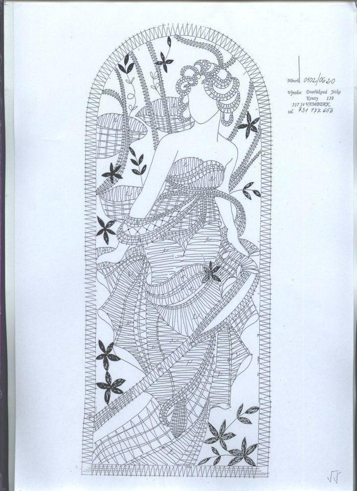 Les Heures de la journée par Alfons Mucha (1899) Le Matin