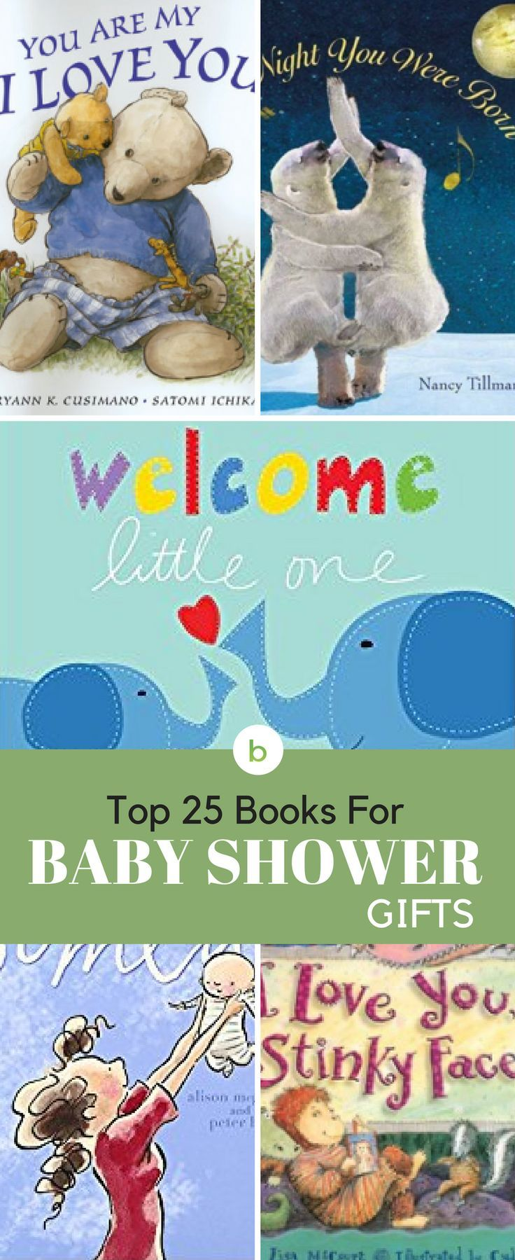 Top 25 Books For Baby Shower Gifts Baby Shower Party Gifts