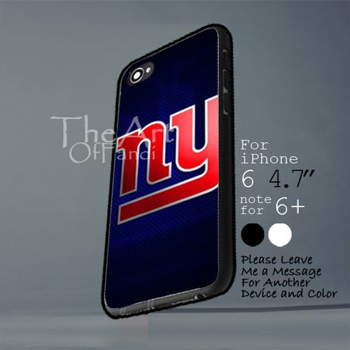 new york giants Iphone 6 note for  6 Plus